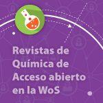 Revistas de acceso abierto del núcleo central de la Web of Science – Química