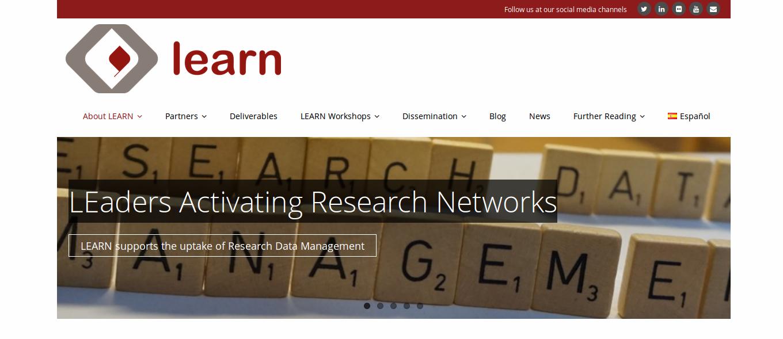 Sitio web oficial del proyecto LEARN - CEPAL
