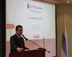 presentación de versión 5 UCR Index