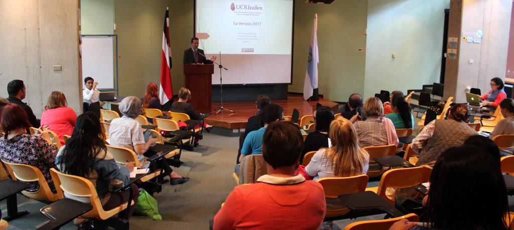 Fernando Santamaría, Vicerrector de Investigación, Universidad de Costa Rica