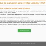 Ya está abierta la evaluación Latindex 2019